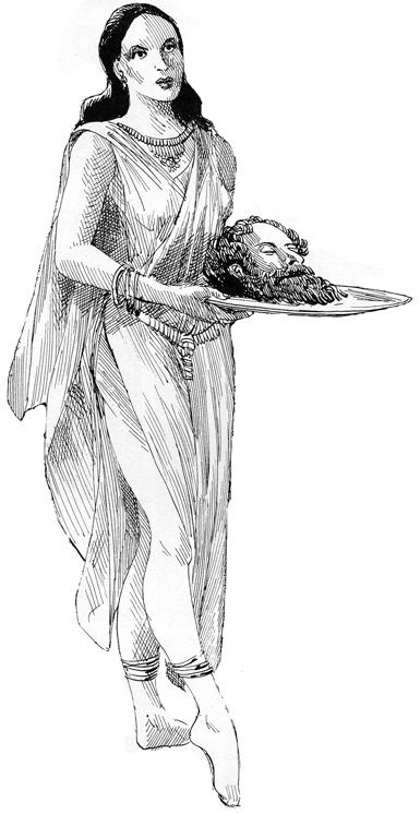 Salome et Saint Jean-Baptiste © Pertuzé